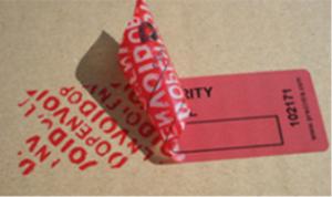 Etiqueta de seguridad para e-commerce