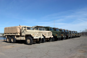 Precintos de seguridad en el transporte de munición y artillería