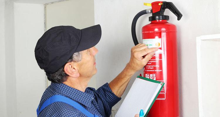 Revisión de precintos para extintores