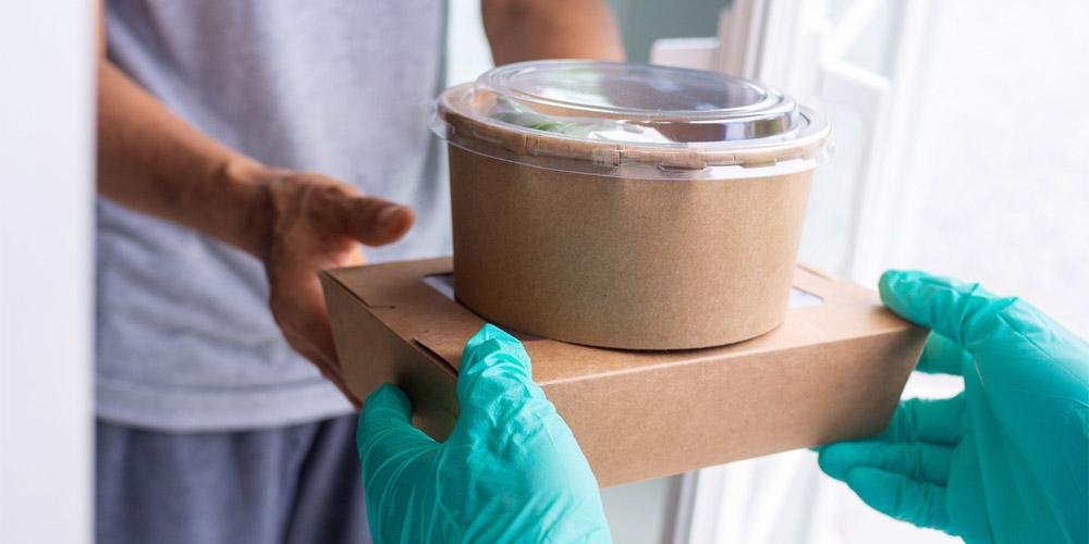 Las etiquetas void permiten realizar entregas de comida a domicilio seguras