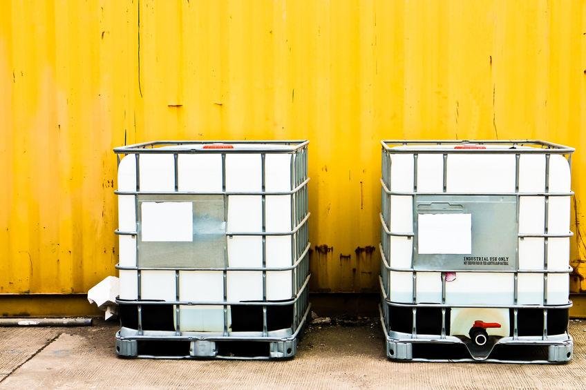 Los contenedores IBC sirven para transportar mercancías a granel