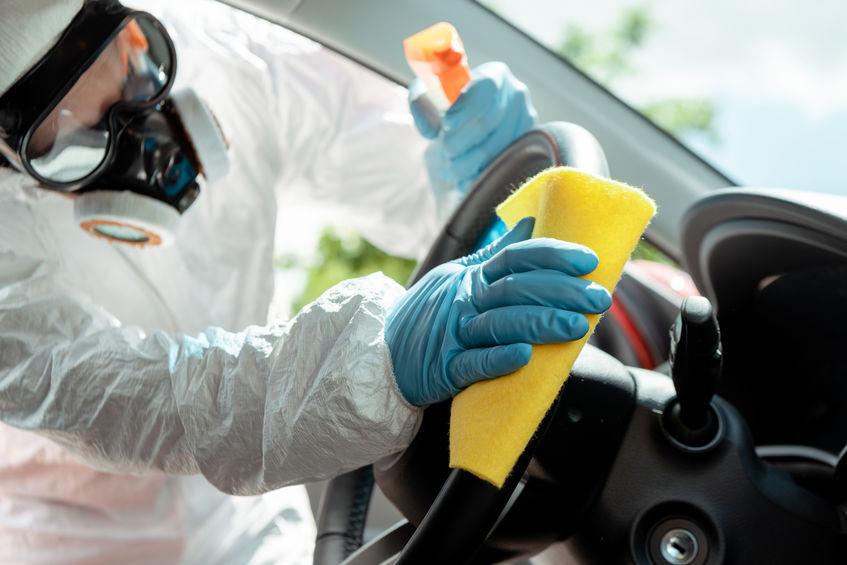 Garantizar la desinfección de vehículos se ha convertido en una prioridad en las empresas de alquiler de coches